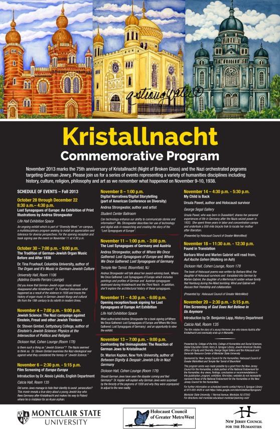 flyer re Kristallnacht