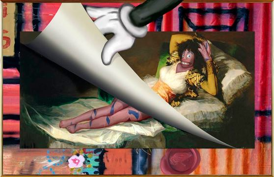 Oola as Goya's Maja
