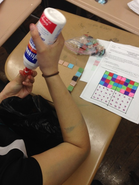 Creating the Geometric Transformation Mosaic