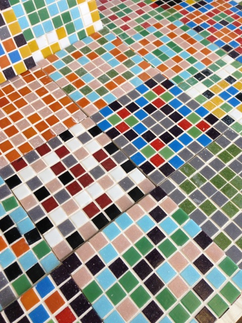 Geometric Transformation Mosaic