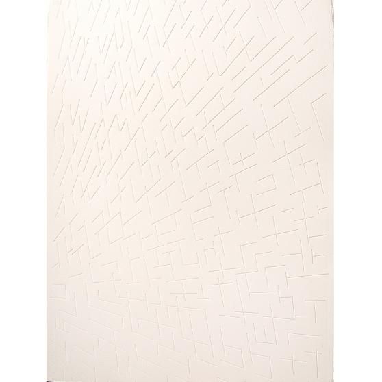 %22Laberinto Interno III%22, 2011, Serie- Laberintos, Grabado- Intaglio sobre papel de algodón, Trazo original del Centro Histórico de la ciudad de Guatemala, 57 x 76 cm.