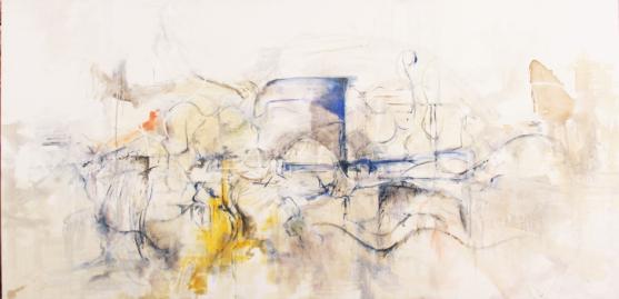 Sín Título, óleo y acrílico, 2010